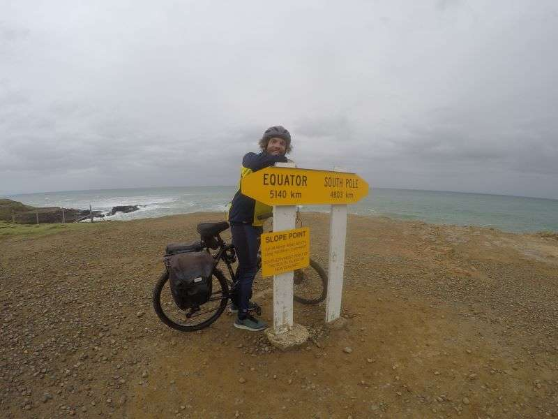 In bici nelle Catlins