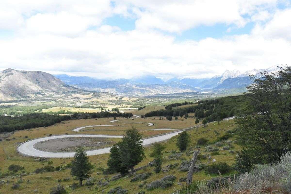 Carretera Austral uscendo da Cerro Castillo