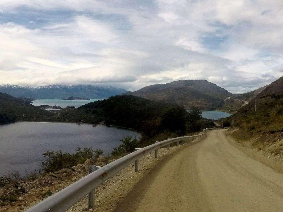 Carretera Austral verso Puerto Rio Tranquilo