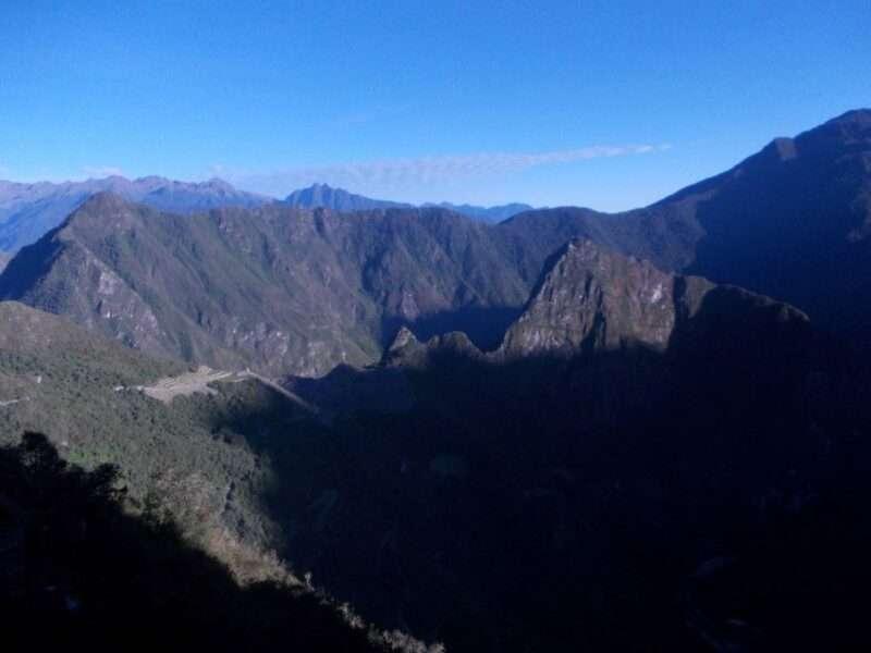 Inca Trail alba dalla Puerta del Sol