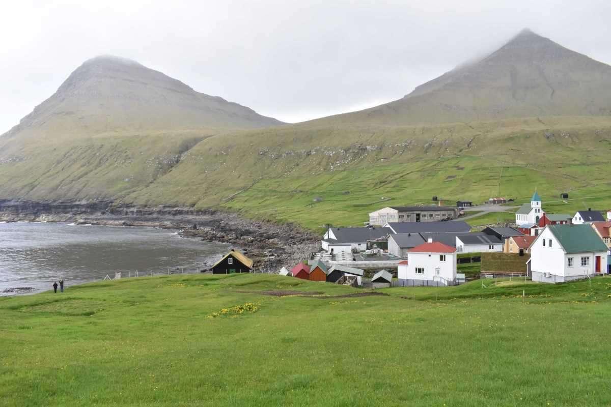 Isole Faroe Gjogv