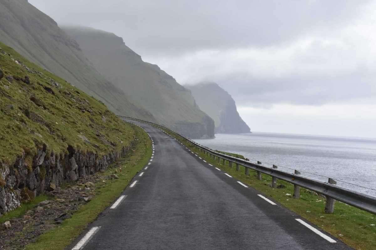 Isole Faroe strade