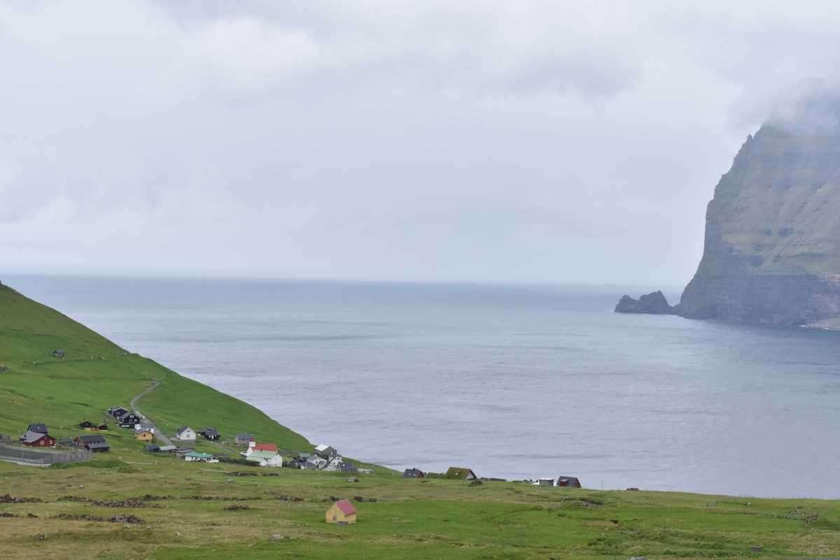 Isole Faroe verso Kalsoy