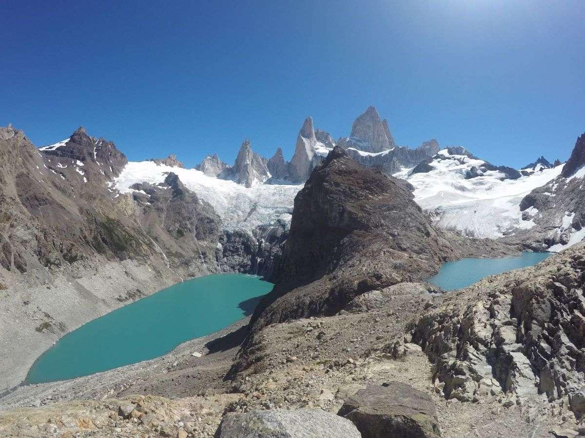 Laguna Los Tres e Laguna Sucia