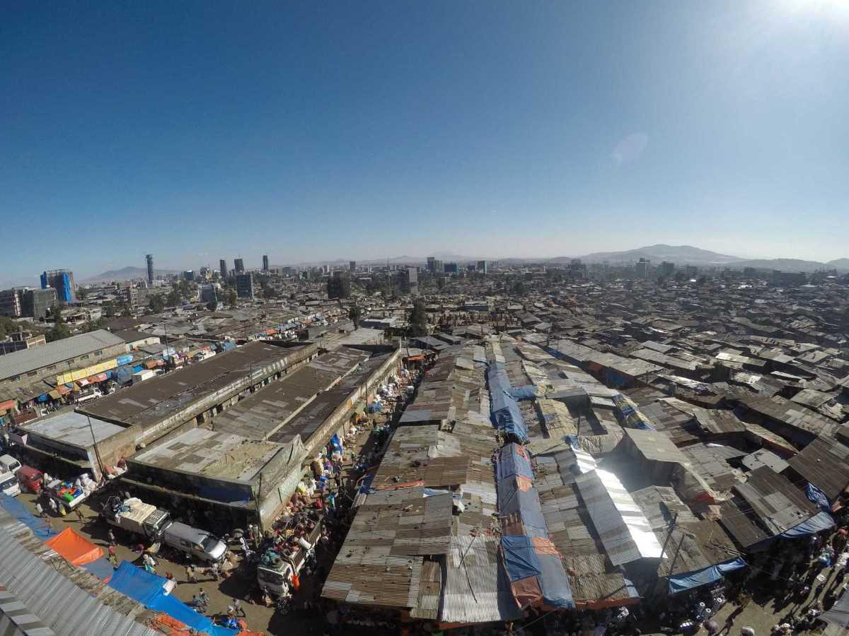 Mercato Addis Abeba