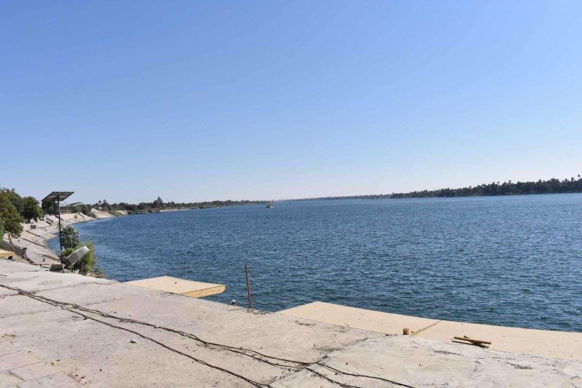 Nilo a Kom Ombo