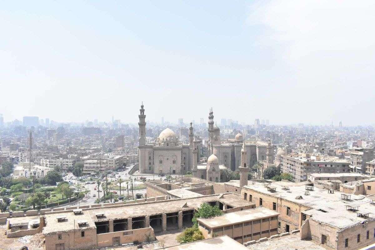 Panorama dalla Cittadella Cairo