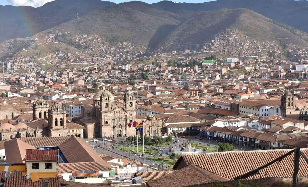 Panorama di Cusco
