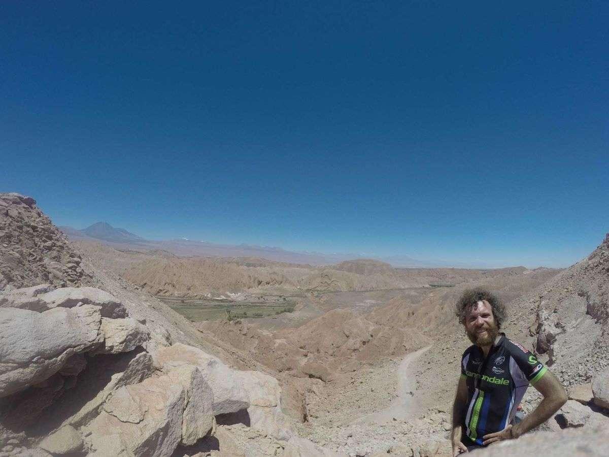 Viaggio in Cile canyon Atacama
