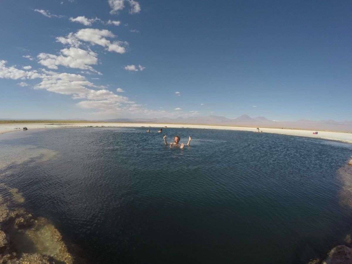 Viaggio in Cile laguna Cejas