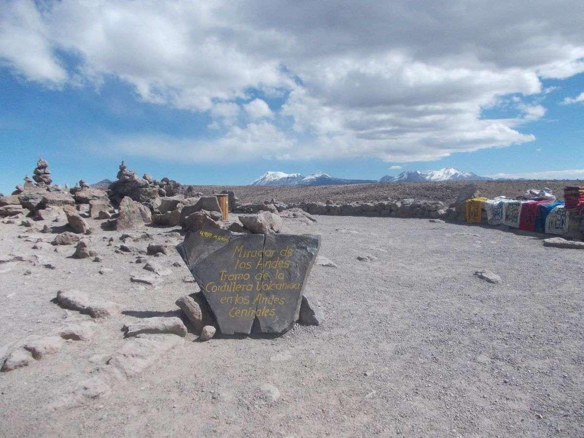 Viaggio in Peru Mirador de los andes