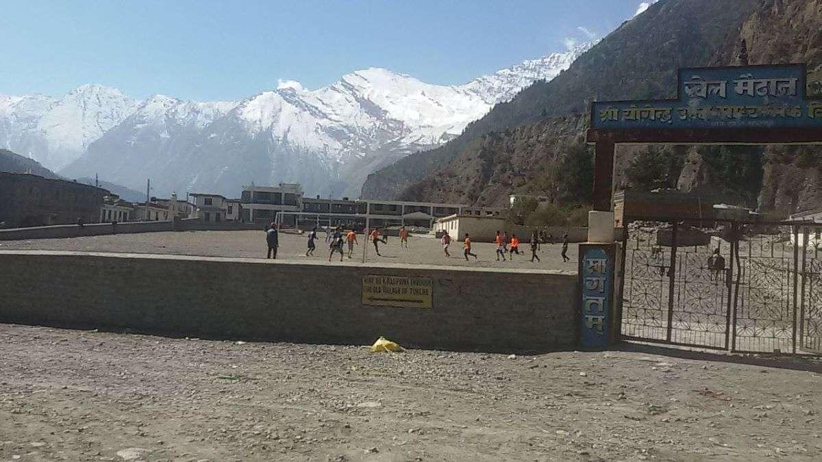 Annapurna Circuit campo da calcio