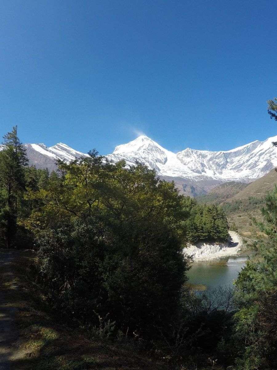 Annapurna Circuit paesaggio