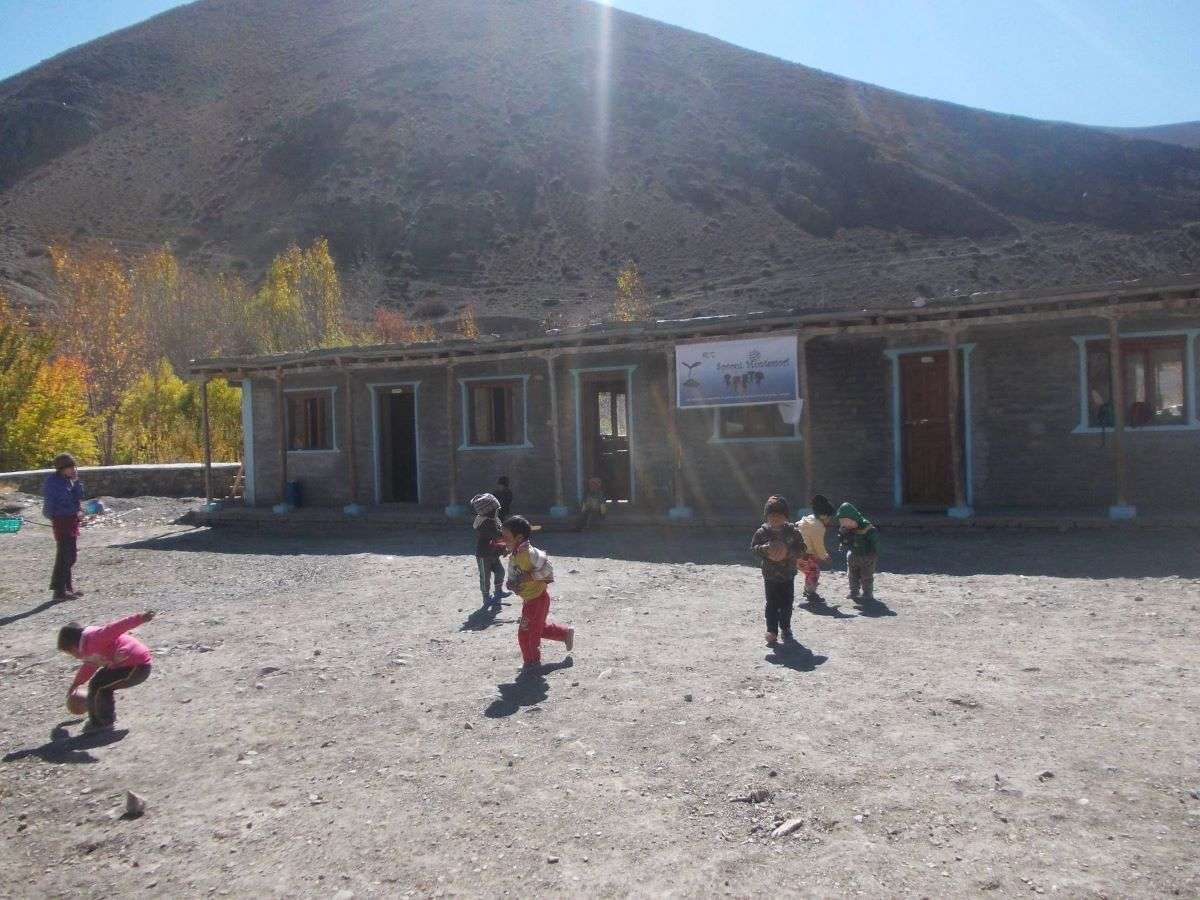 Annapurna Circuit scuola Montessori