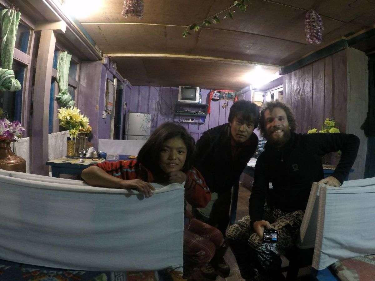 Annapurna Circuit una guesthouse