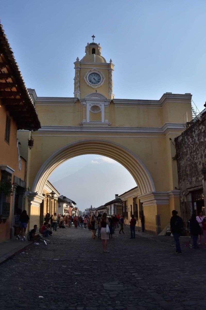 Antigua Arco de Catalina