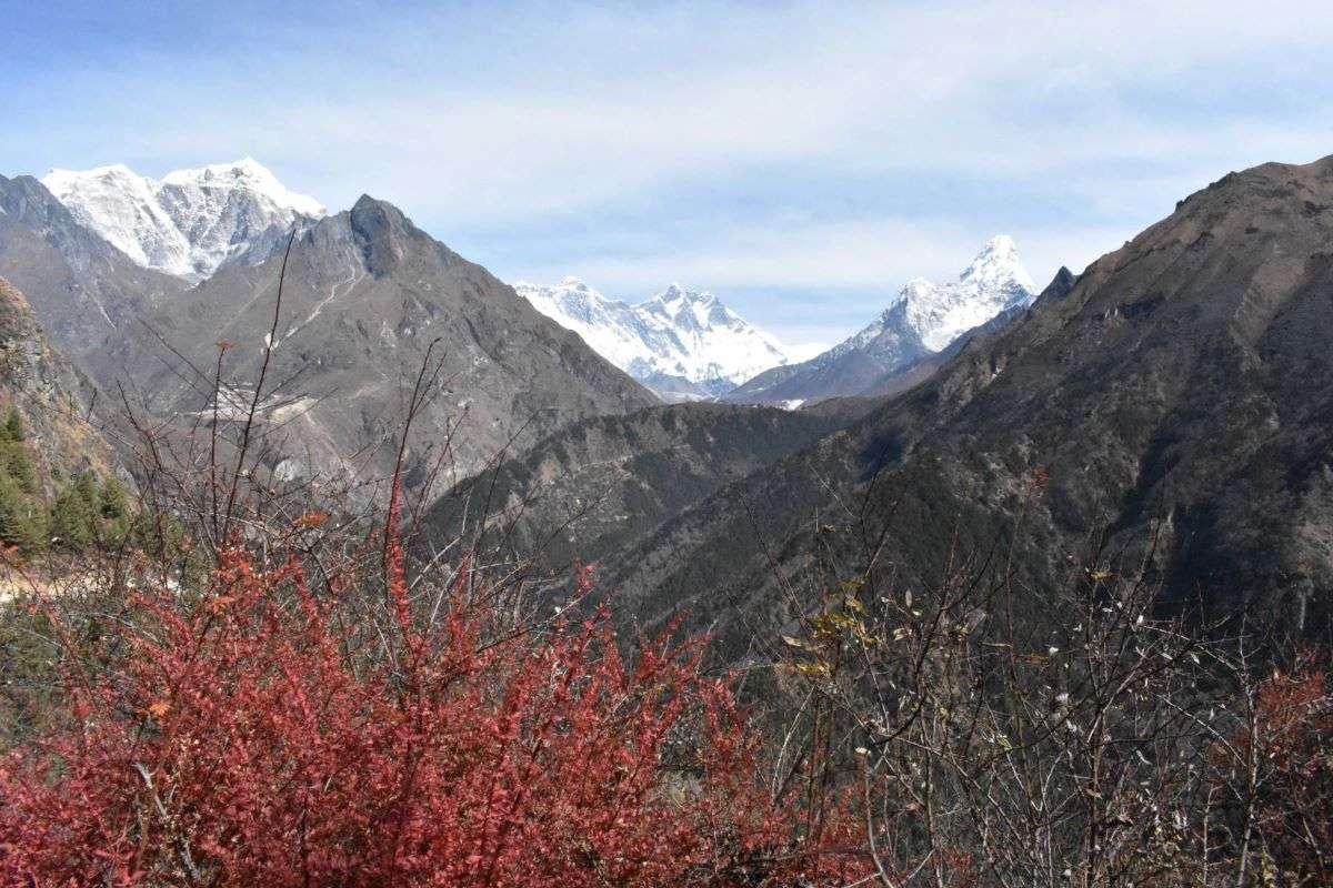 Camminando verso Everest Base Camp Ama Dablam