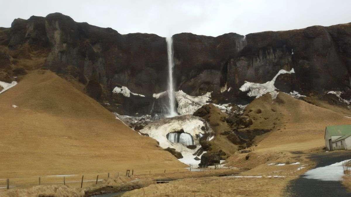 Cascata islandese