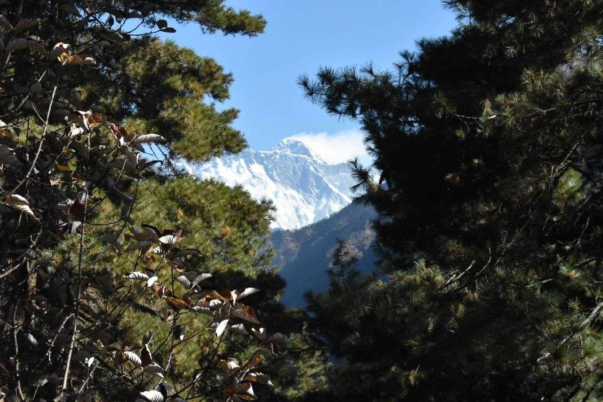 Everest, salendo verso Namche Bazaar
