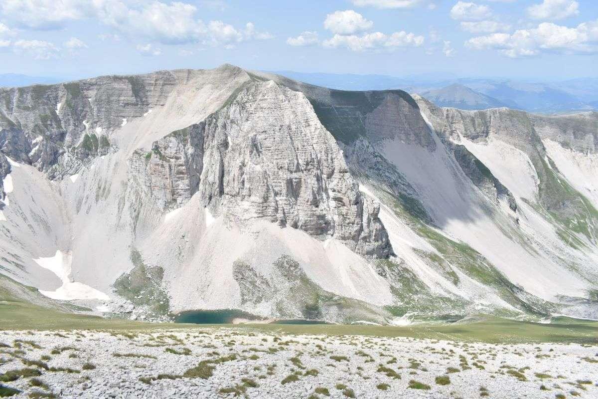 I laghi di Pilato dal Monte Vettore