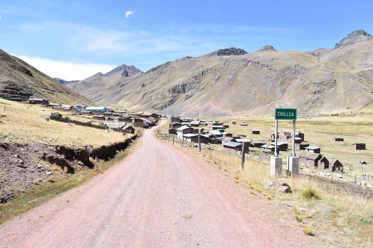Il piccolo paese di Chillca