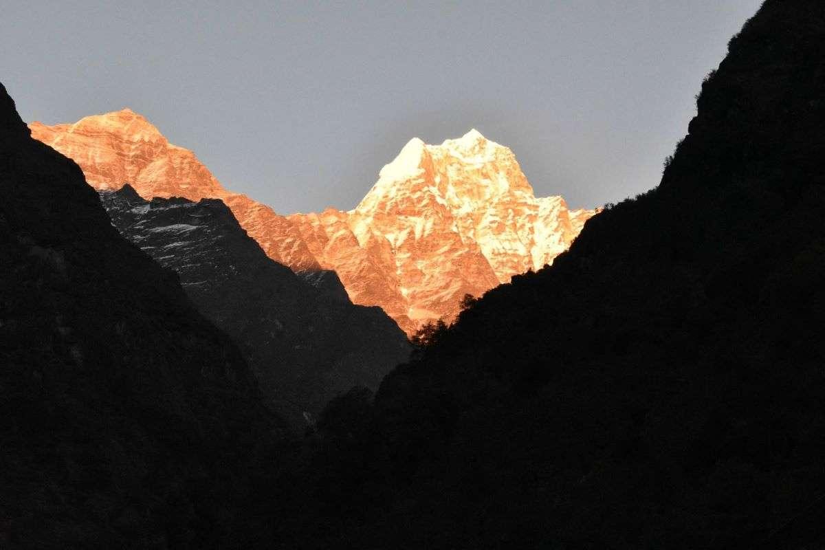 Inizio del cammino verso Everest Base Camp