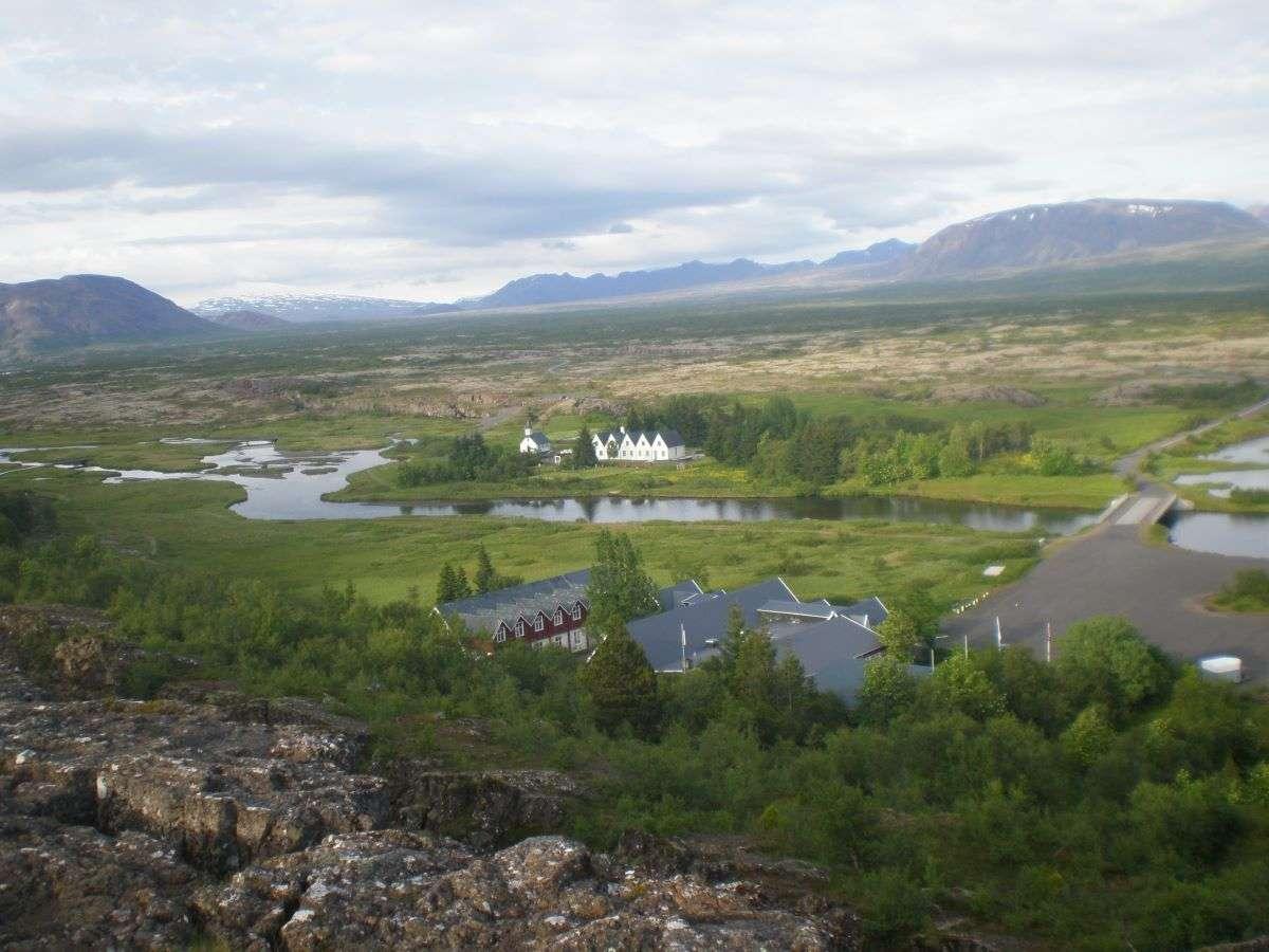 Islanda in estate Pingvellir