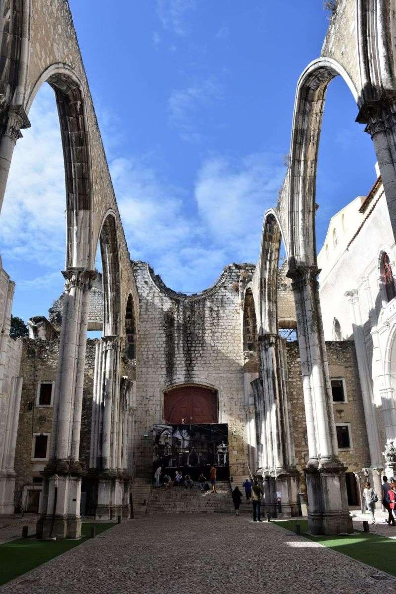 Lisbona Convento do Carmo