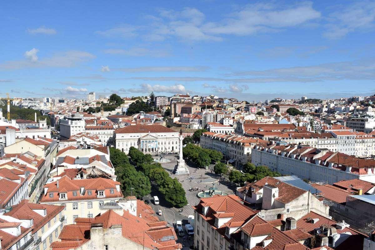 Lisbona Elevador de Santa Justa