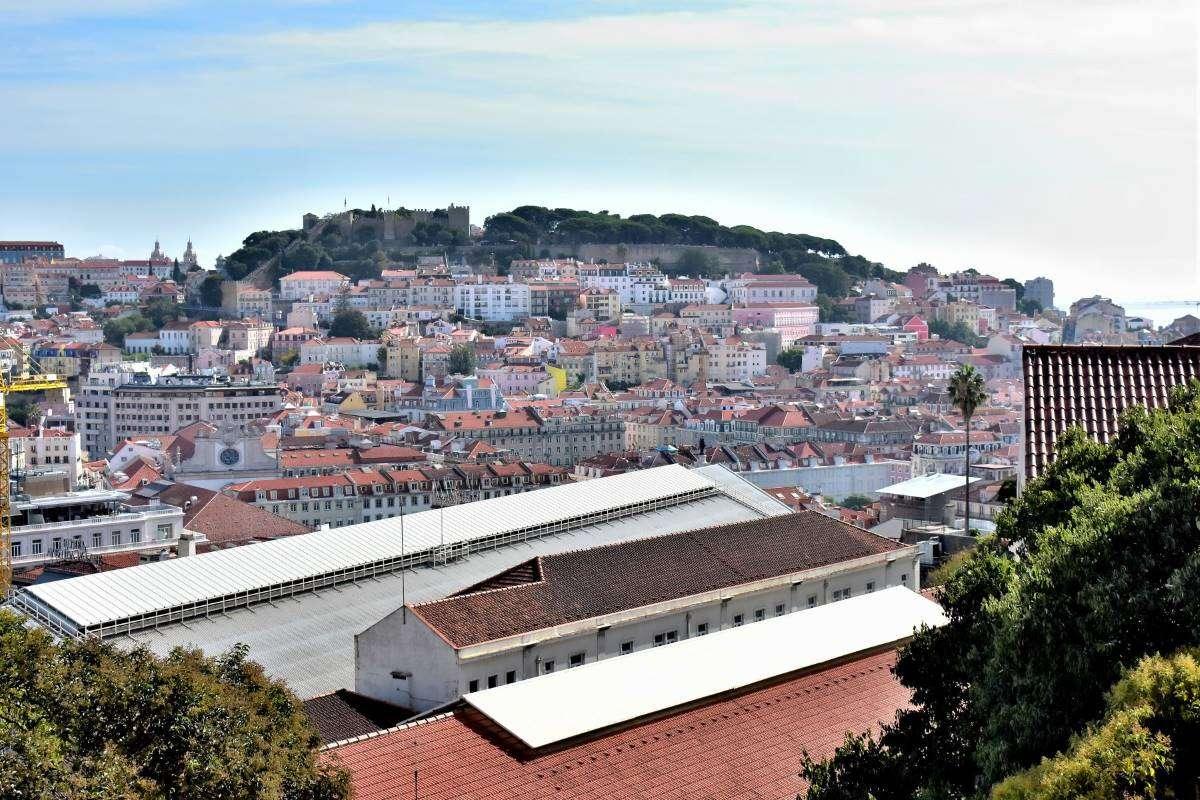 Lisbona Miradouro San Pedro de Alcantara