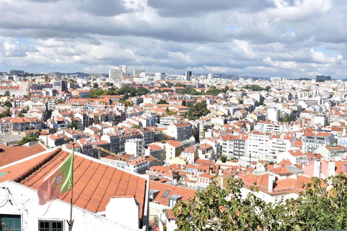 Lisbona Miradouro da Senhora do Monte