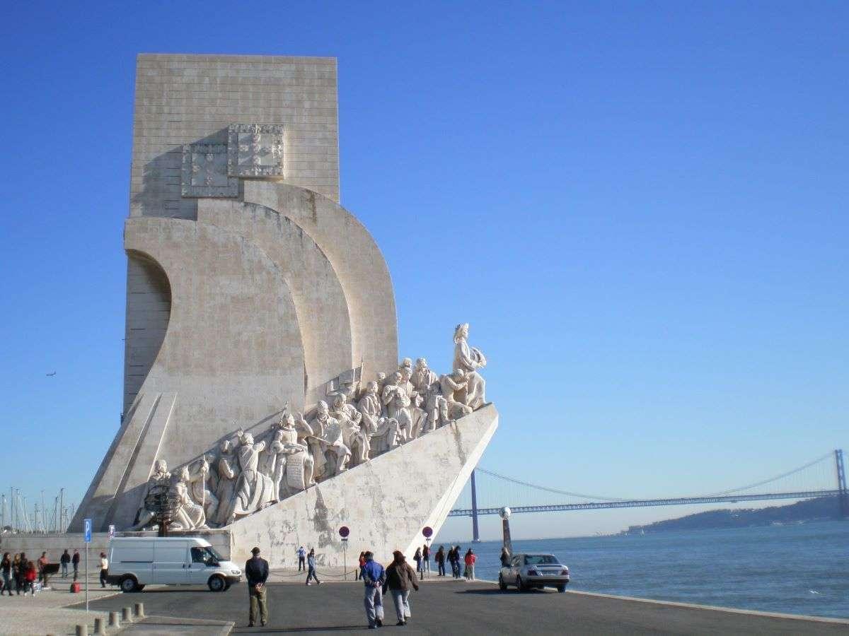 Lisbona monumento delle scoperte