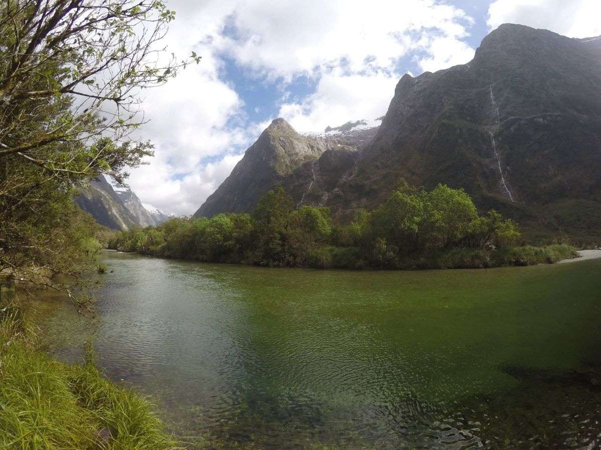 Milford Track fiume
