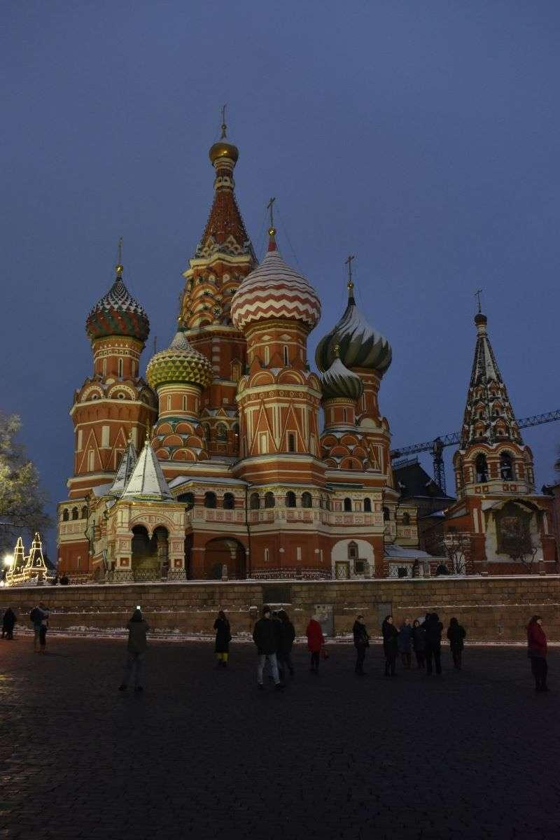 Mosca Cattedrale di San Basilio