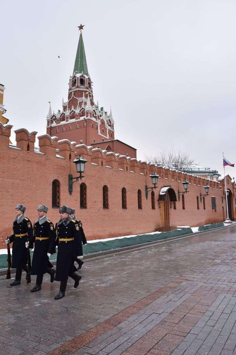 Mosca giardini Aleksandrovsky