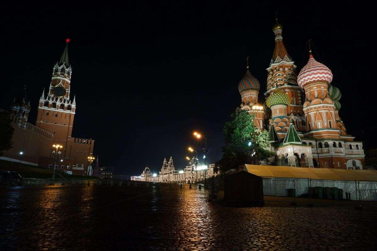Mosca ingresso alla Piazza Rossa
