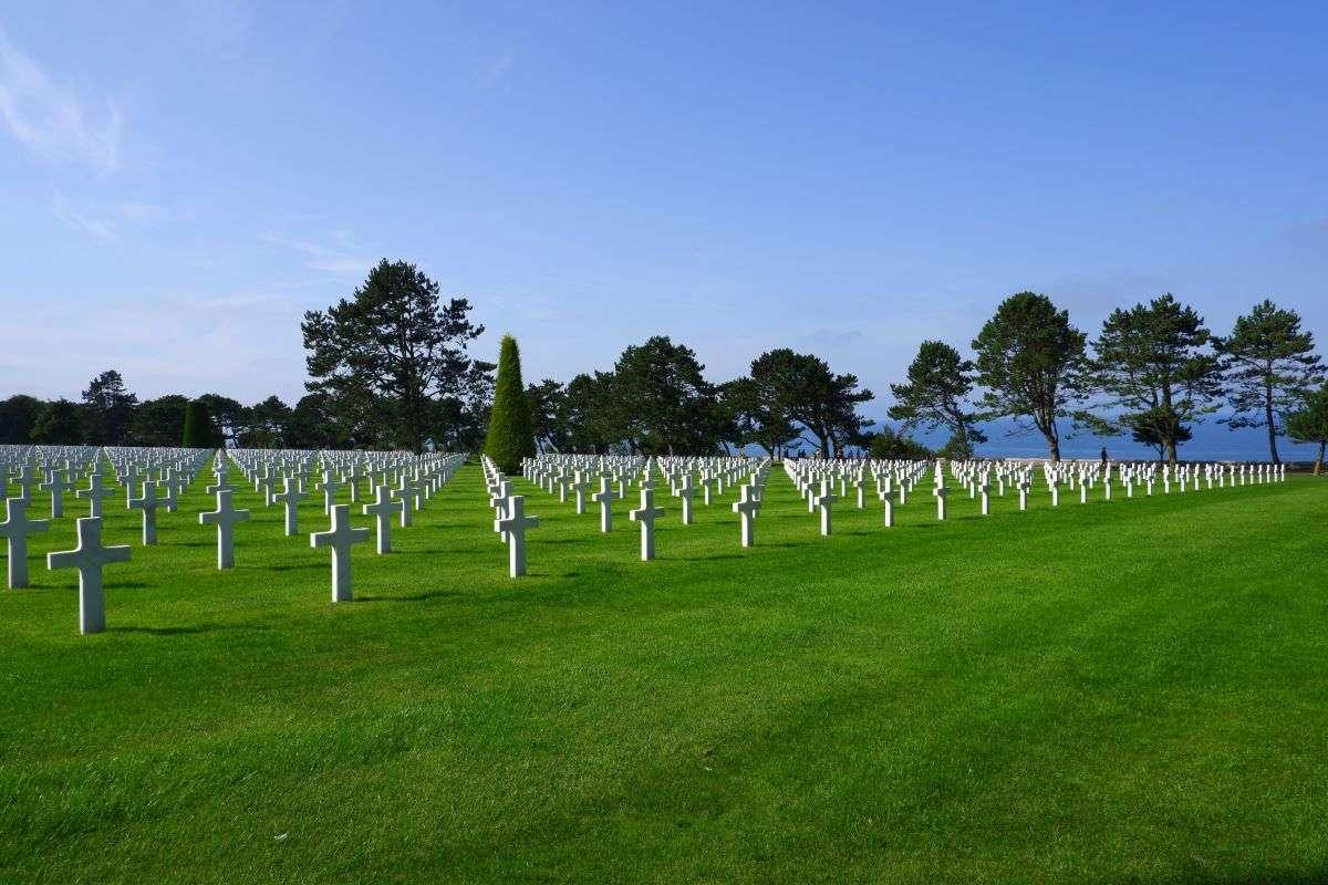 Normandia cimitero
