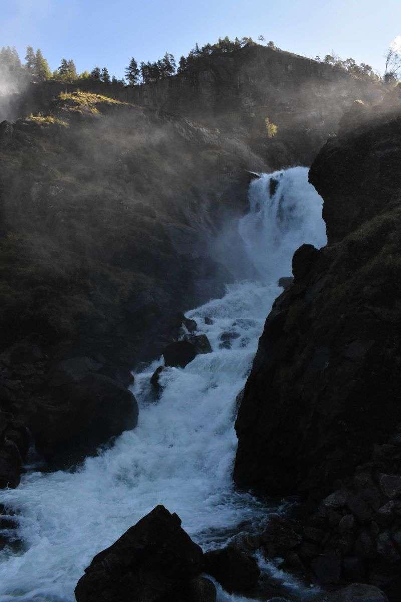 Norvegia Meridionale Latefoss