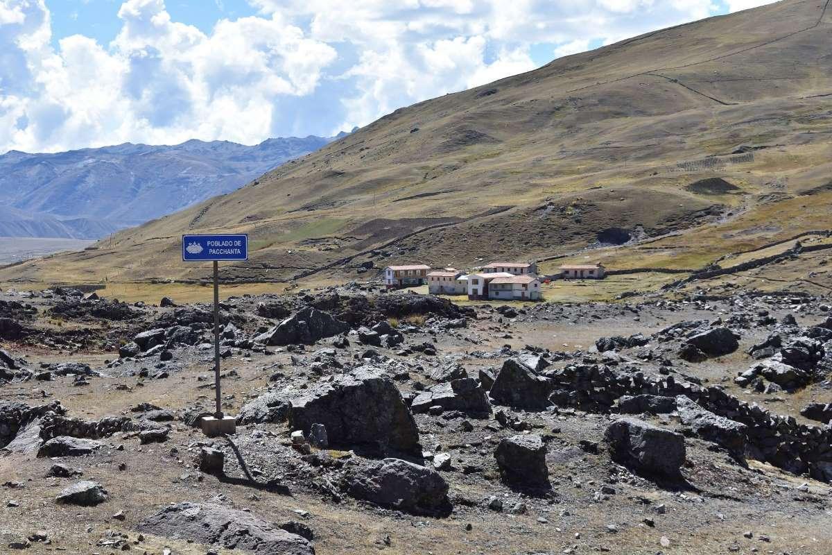 Pacchanta, fine del trekking Ausangate
