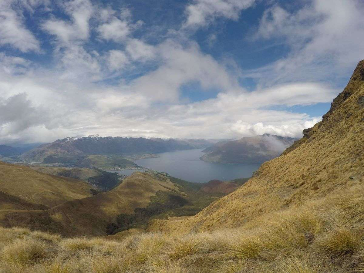 Panorama da Ben Lomond