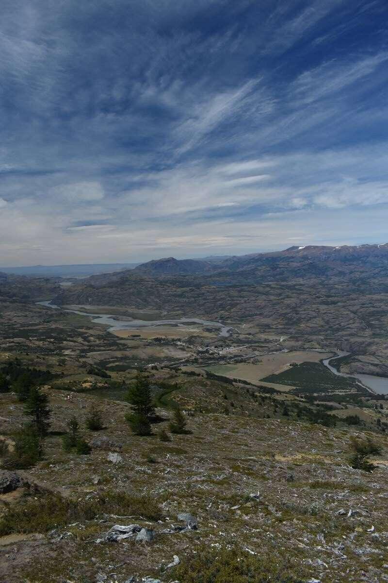 Salendo verso Cerro Castillo
