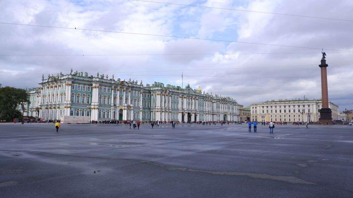 San Pietroburgo Palazzo d'Inverno