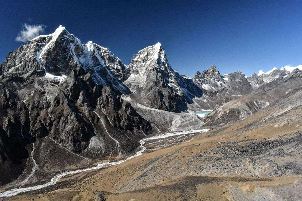 Sentiero che porta ad Everest Base Camp