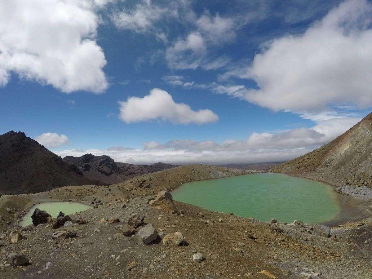 Tongariro Crossing Emerald Lakes