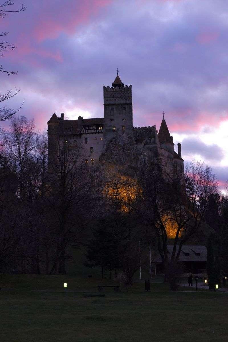 Tramonto Castello Bran
