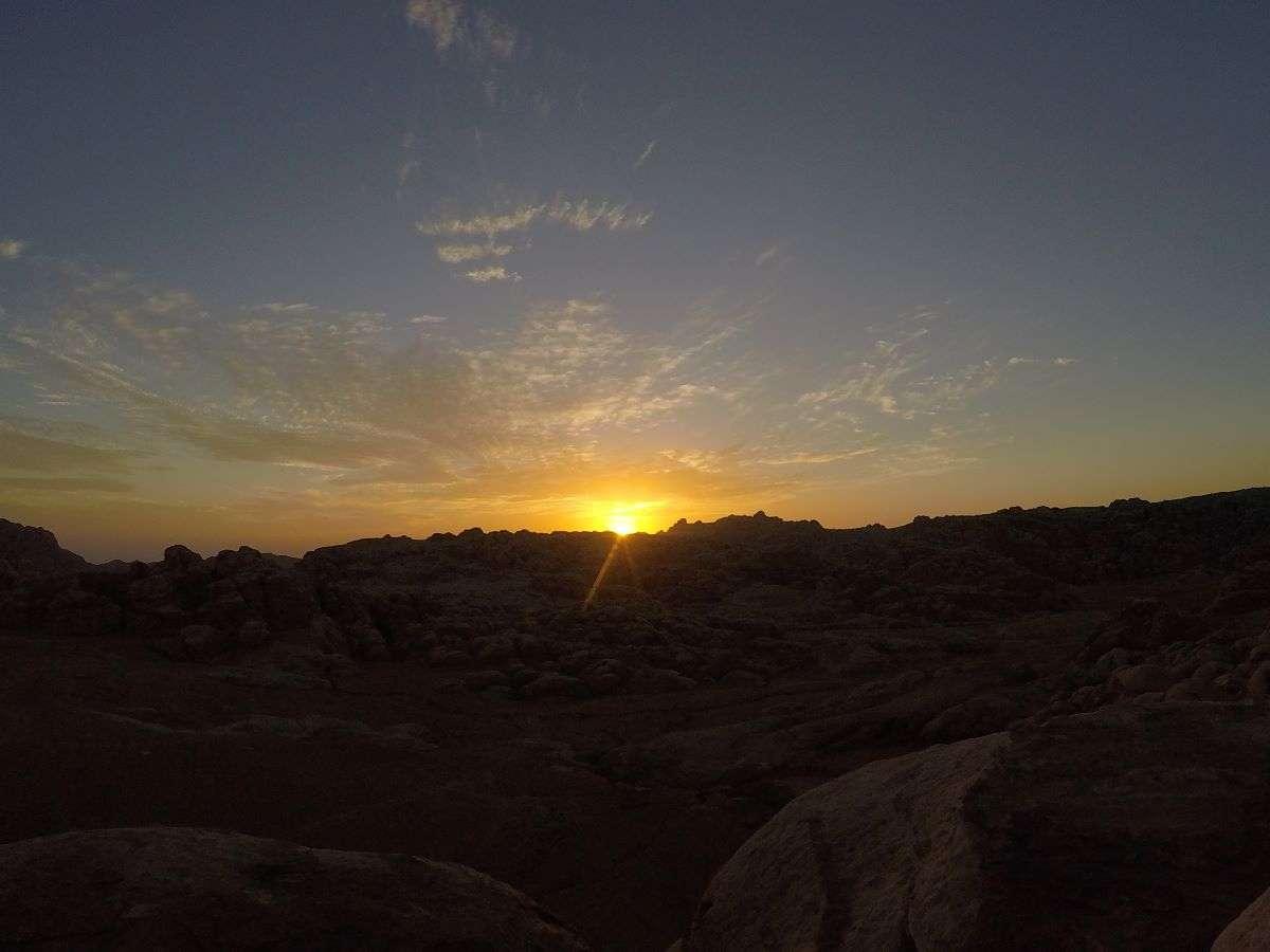 Tramonto giordano