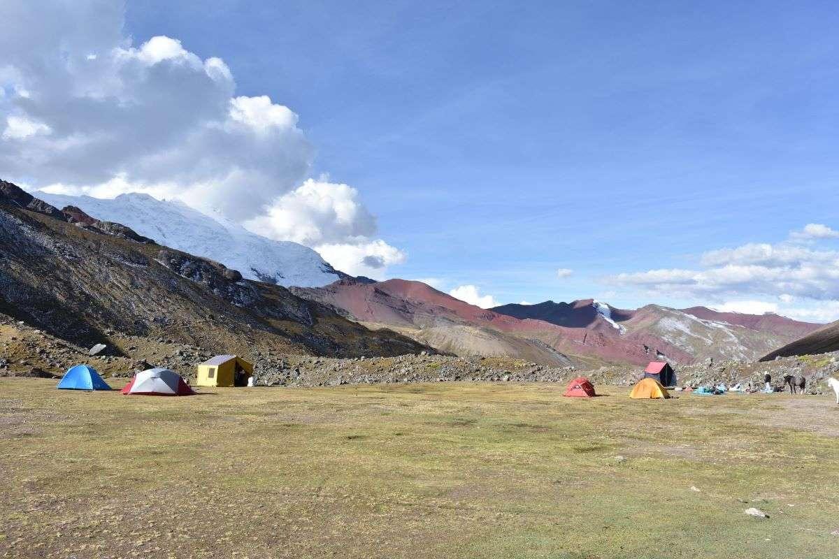 Trekking Ausangate secondo camp