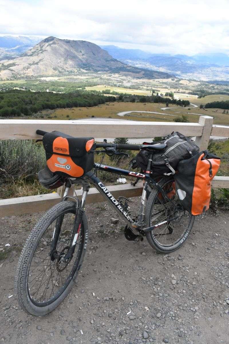 Uscendo da Cerro Castillo