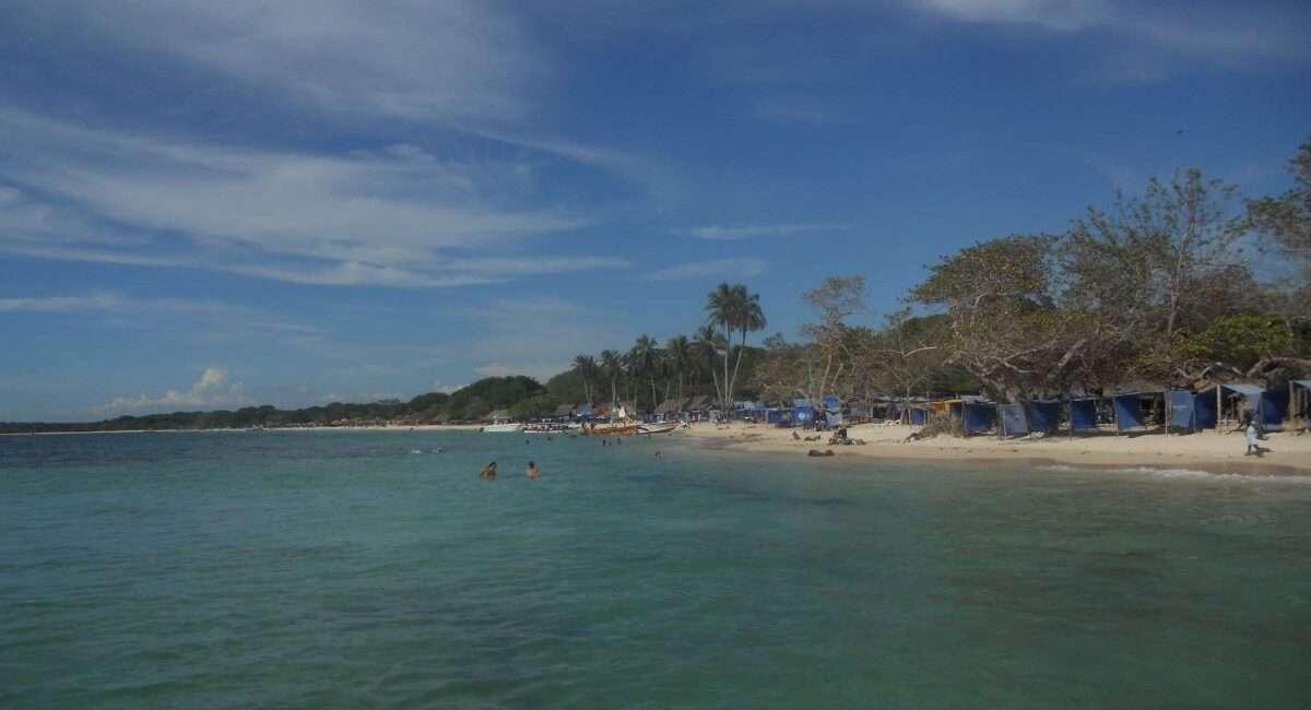 Viaggio in Colombia Playa Blanca