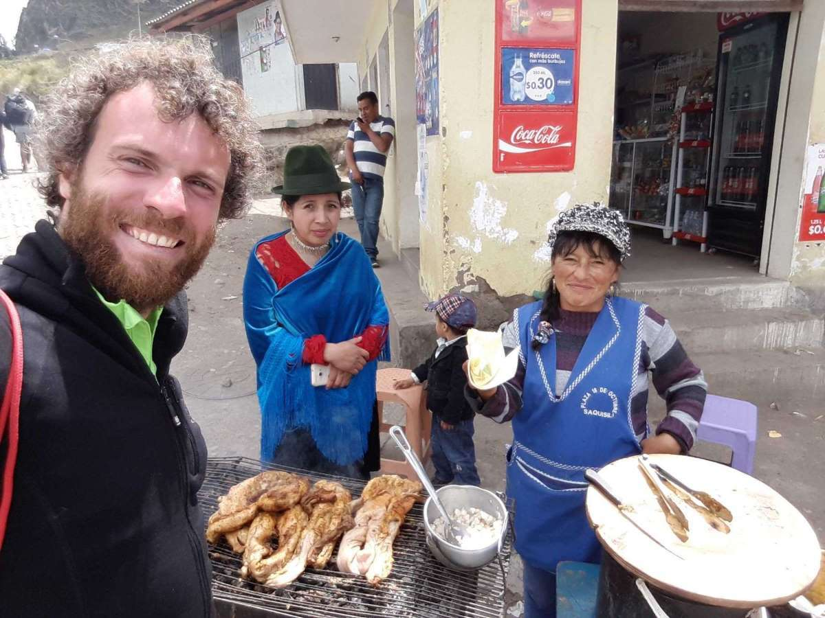 Viaggio in Ecuador Street Food